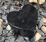 Granitherz Herz aus Granit Grabherz Grabdeko Grabschmuck Grabstein Herz