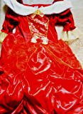 Disney Red Belle Fancy Dress Costume Age 8-9 Years