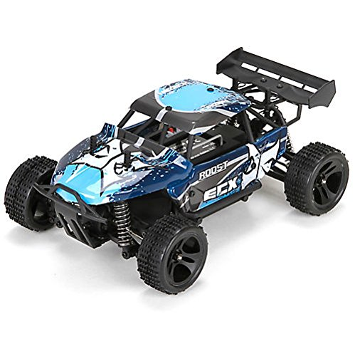 ECX Roost 1:24 4WD Desert Buggy: Blue/Grey RTR (Rc 380 Motors Brushed compare prices)