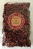 ローズティー【ローズレッドペタル】 (50g【ばらの花びら100%】【バラ茶】)