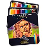 Prismacolor Premier Soft Core Colored Pencil, Set of 48 Assorted Colors (3598T)