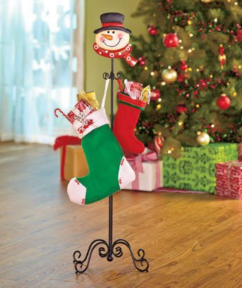 Best christmas stockings and holders to brighten holiday for Best stocking holders