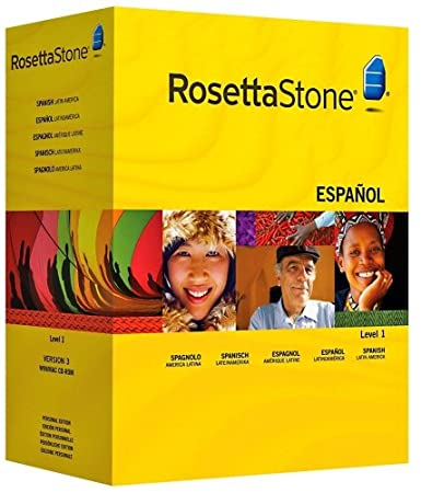 Rosetta Stone Version 3: Spanish (Latin America) Level 1 with Audio Companion (Mac/PC CD)