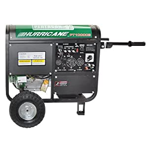Pentagon Tools Portable 10000W Peak Gas Electric Start Emergency Generator 16HP OHV