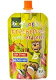 BioKids Fruchtmus Apfel-Erdbeere, 12er Pack (12 x 90 g)