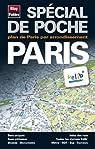Plan de Paris - Avec localisation des stations V�lib', et plans : du m�tro, des Bus, du RER et du tramway - Echelle : 1/12 000 par Blay-Foldex