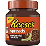REESE'S Spreads with Chocolate and Peanut Butter (13-Ounce Jar, Pack of 8)