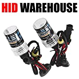 HID-Warehouse® HID Xenon Replacement Bulbs - H11 6000K - Light Blue (1 Pair) - 2 Year Warranty