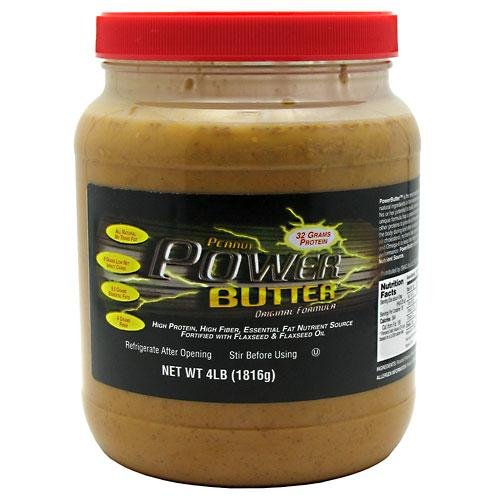 Powerbutter Power Butter Spread, Peanut 4 lb (1816 g)