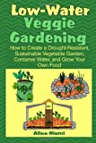 img - for Low Water Veggie Gardening: How to Create a Drought-Resistant, Sustainable Vegetable Garden, Conserve Water, and Grow Your Own Food book / textbook / text book