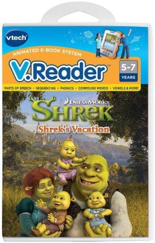 V.Reader Animated E-Book Cartridge - Shrek's Vacation
