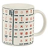 Japanese Map Symbols Mug
