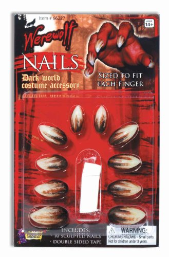 Deluxe Werewolf Nails Accessory