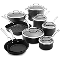 Sur La Table Dishwasher Safe Hard 15-Piece Anodized Nonstick Set