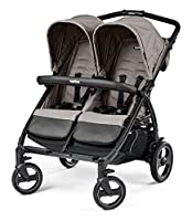The Side-By-Side Twin Stroller Book For Two Mod beige Peg Perego from Peg Perego