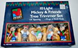 10 Light Mickey & Friends Tree Trimmer Set