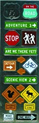 Martha Stewart Crafts Stickers, Road Signs
