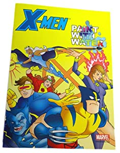 Amazon Com X Men Paint With Water Coloring Book Toy Paint With Water Coloring Books