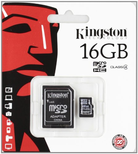 Kingston Class 4 16gb Micro Sdhc Card Picture
