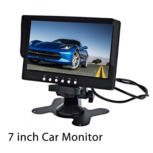 Crocon 7 Inch Digital Tft Lcd Monitor Car Monitor Suitable For Car Reversing Cctv Acess Control