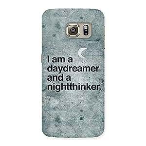 Impressive Knight Thinker Multicolor Back Case Cover for Samsung Galaxy S6 Edge