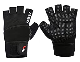 2-Fitness Weight lifting Glove Workout Traning Glove S