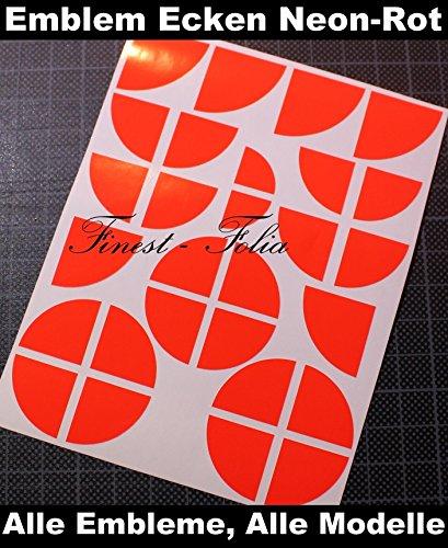 Folia finest-uG 35 emblem-rouge fluo pack coins