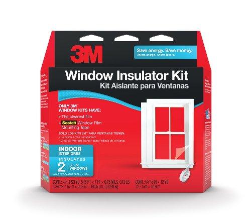 3M Indoor Window Insulator Kit, 2-Window
