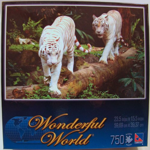 Wonderful World 750 Piece Jigsaw Puzzle: Bengal Tigers