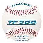 Spalding TF-500 Premium Leather Baseballs 1 Dozen