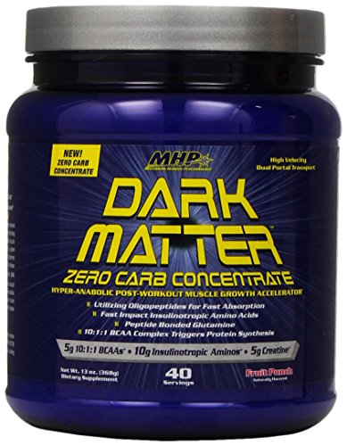 Maximum Human Performance Dark Matter Zero Carb Concentrate, Fruit Punch, 13 Ounce