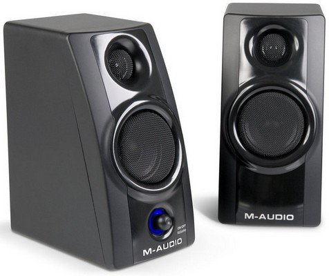 M-Audio Studiophile AV 20 - Portable Desktop Speaker System