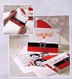 PGX4446 Hallmark Cute Santa Photo and Newsletter Set