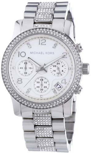 Michael Kors MK5825 38mm Silver Steel Bracelet & Case Mineral Women's Watch
