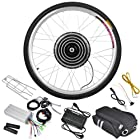 Add-on Motorize Bike 48v 1000w 26 Inch Front Wheel Electric Bicycle Motor Conversion Kit