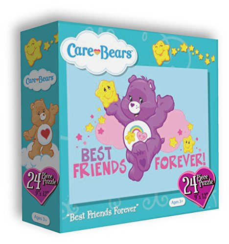 Care Bears 24 Piece Puzzle Measures 9x12 Best Friends Forever