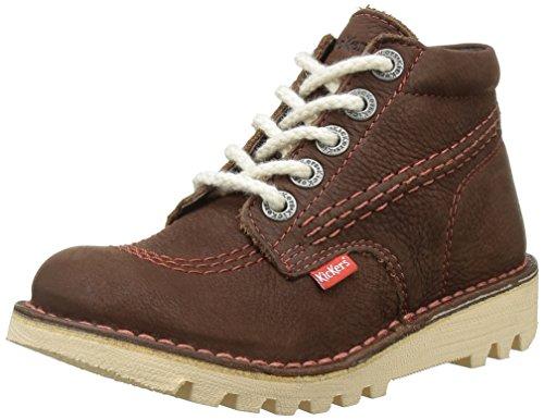 KickersNeorallye - Stivali classici alla caviglia Bambino , marrone (marrone), 34 EU