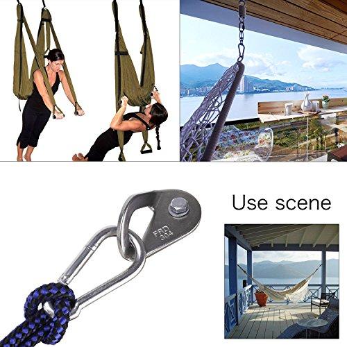 new hammock indoor hanging kit mounting anchors hook set free shipping ebay. Black Bedroom Furniture Sets. Home Design Ideas