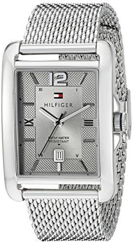 Tommy-Hilfiger-Mens-1791202-Casual-Sport-Analog-Display-Quartz-Silver-Tone-Watch