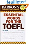 Essential Words for the TOEFL: Test o...