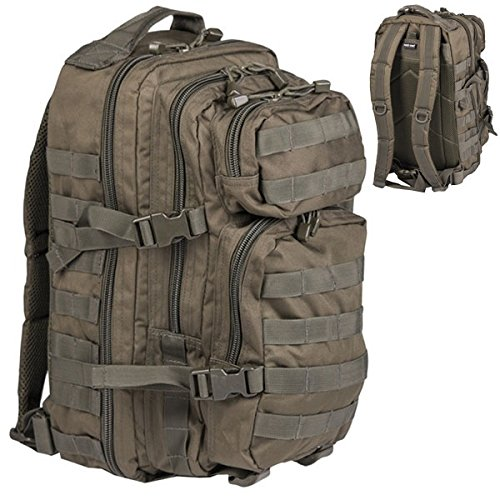 Rucksack-US-Assault-Pack-20l-oliv-Tactical-Kommando-KSK-Army-Oliv-Bundeswehr-Outdoor-Molle-Backpack-FschJg-Ranzen-Beutel-16068