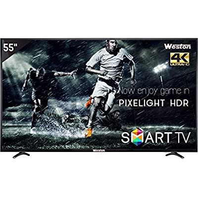 "Weston WEL-5500 140 CM (55"") 4K(UHD) SMART LED Television"