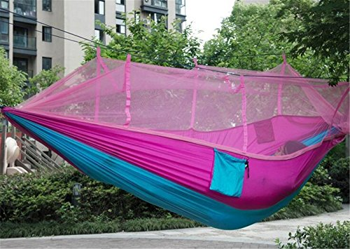 Eiala Camping Hammock Mosquito Net Outdoor Hammock Travel