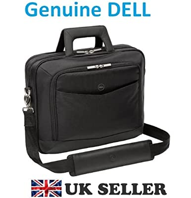 "Genuine Original DELL Professional Business Notebook Case Bag for XPS Latitude Inspiron Precision Vostro , upto 16"" size laptops , suitable for 12"" 13"" 14"" 15"" 16"" Laptop Notebook Case BAG , Complete with shoulder strap , & Dell Boxed , Dell P/N : XKYW7 ,"