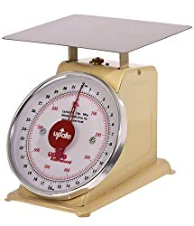 Update International UP-840 Analog Shipping and Receiving Scale with Enamel Finish, 40-Pound