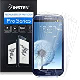 Insten Premium Clear Mirror Screen Guard Front Protector for Samsung Galaxy S3 I9300,6 Piece