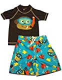 Carter's - Toddler Boys 2 Piece Rashguard Swimsuit Set