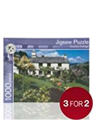 Country Cottage Puzzle Game