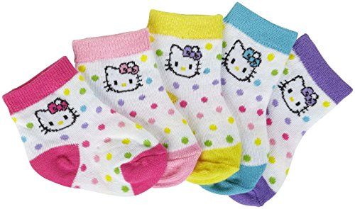 Hello-Kitty-Baby-Girls-Dot-Ankle-Socks-Baby-Multicolor