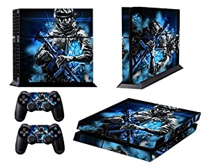 Pythons PS4 Console Designer Skin for Sony PlayStation 4 System plus Two(2) Decals for: PS4 Dualshock Controller